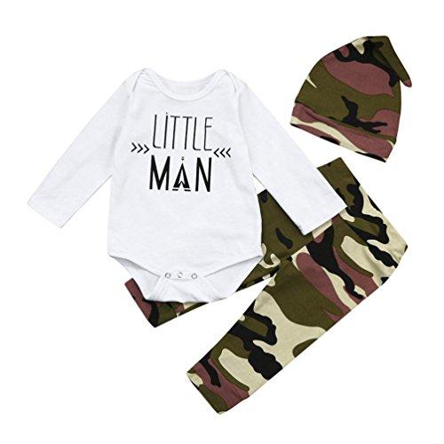 Shop the Look Memela(TM) NEW F/W Camouflage Baby Boys Layette Gift Set Cloth Set 0-18 mos (3-6 mos) - First Christmas Sleeper