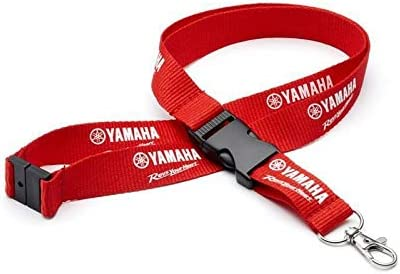 Yamaha Motorcycles Genuine Red Lanyard
