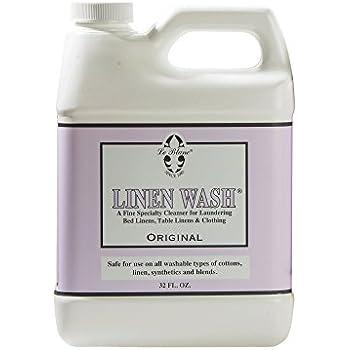 Le Blanc Linen Wash Classic Scent Clean Vintage Precious Heirloom Linens Safely, One 32 fl oz
