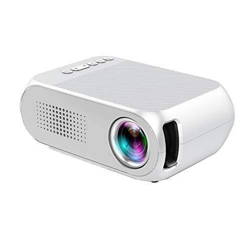 Nayayar Proyector, proyector Micro Mini hogar portátil LED ...