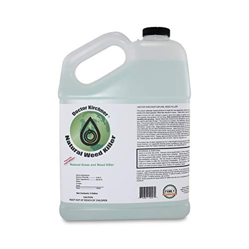 Natural Weed Killer (1 Gallon) | Ocean Water Made | Commercial Food Grade Vinegar | Pet Safe, Kid Safe | Rain Safe | Safe to Replant | Natural Herbicide | See Results in Hours (Best Fruit Trees To Grow In Florida)