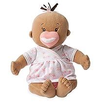 "Manhattan Toy Baby Stella Beige Soft Nurturing First Baby Doll for Ages 1 Year and Up, 15"""