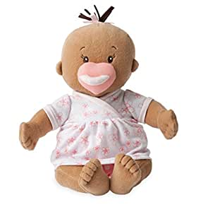 Amazon Com Manhattan Toy Baby Stella Beige Soft First Baby Doll For Ages 1 Year And