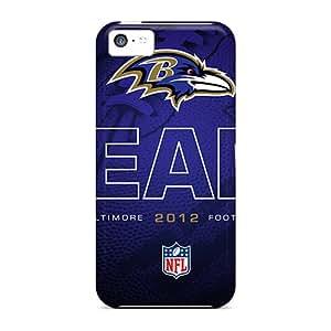 BrownCases XlZ1427jvZf Case Cover Skin For Iphone 5c (baltimore Ravens)