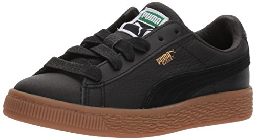Puma Kinder Korb Classic Gum Deluxe Schuhe Puma Black/Puma Black