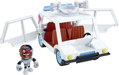 Teen Titans Go! T-Car & Cyborg Vehicle & Figure Action Figure