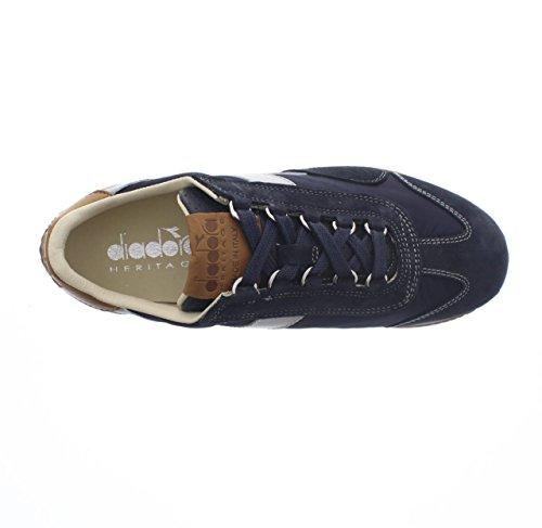 Diadora Mens Equipe Ita Sneakers, Blue-wing-teal, 42 Eu Blu