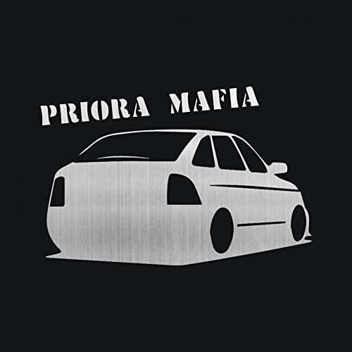 Priora Mafia 3D Car Stickers Motorcycle Decals Car Styling Car Bumper Vinyl Stickers Car Body Window Stickers Brushed Gold 1pcs (Mafia 3 Best Car)