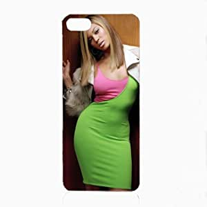 Bondever Beyonce Knowles done Hard Phone Cover Case for iphone 5c