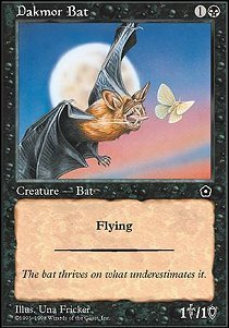 Magic: the Gathering - Dakmor Bat - Portal