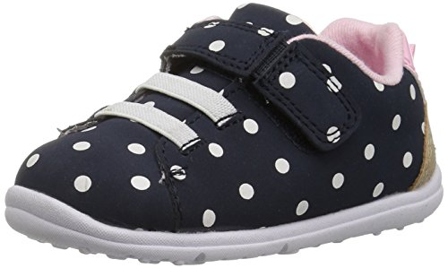 Carter's Every Step Brady Baby Boy's Casual Sneaker, Navy, 5.5 M US Toddler