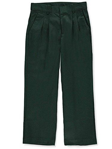 Universal School Uniforms Boys Pleated Pant 18 Hunter Green