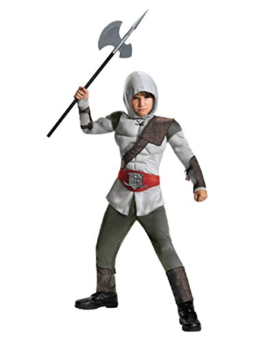 Disguise 85339K Assassin Muscle Costume, Medium (7-8) (Assassin Halloween Costumes)