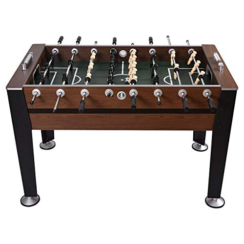 "GYMAX 54"" Foosball Table Indoor Soccer Game Table for Adults Kids Room Sports Game from GYMAX"