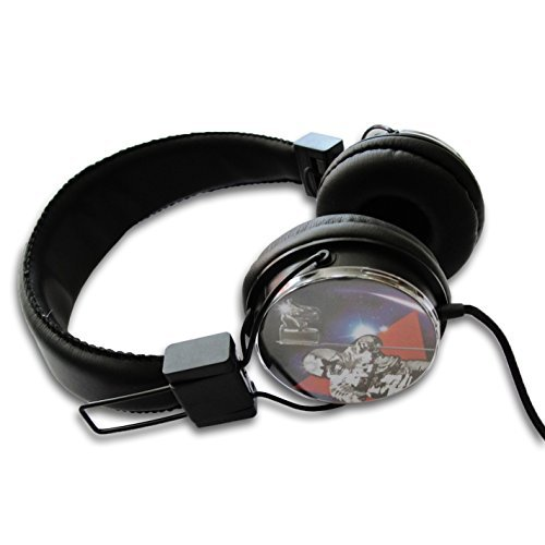 MTV Moon Man On Ear Headphones with In-Line Microphone and Remote