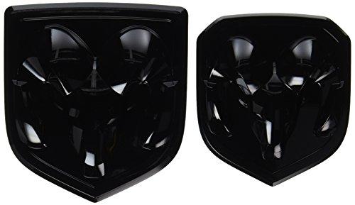 dodge ram 2014 black. black dodge ram 1500 2500 3500 front u0026 rear head emblem medallion mopar oem 2014 m