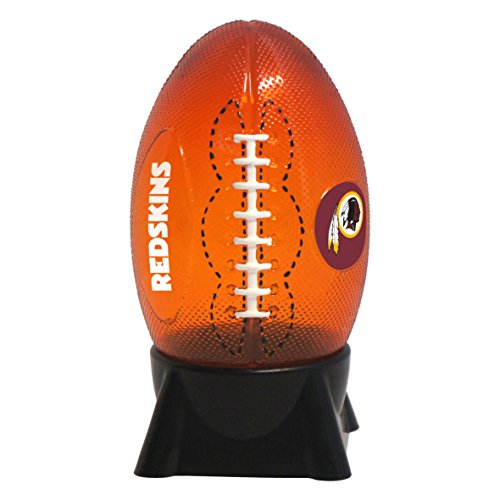 NFL Washington Redskins Football Shaped Night Light Washington Redskins Bed