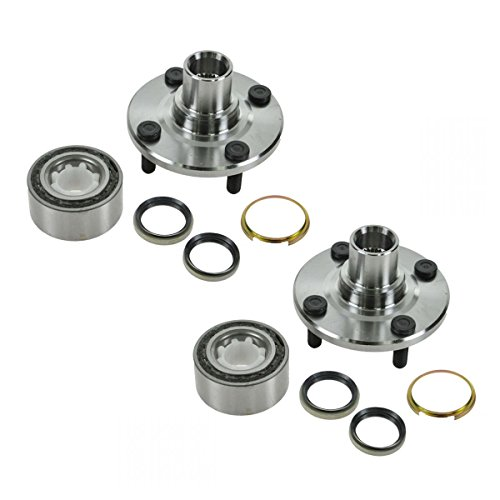 (Front Wheel Hub & Bearing Pair Set Kit for 93-02 Corolla Prizm )