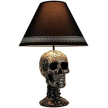 Amazon.com: Lámpara de mesa de dragones guardianes ...