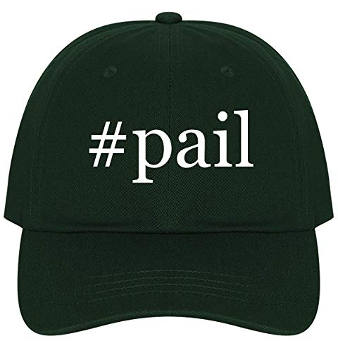 - The Town Butler #Pail - A Nice Comfortable Adjustable Hashtag Dad Hat Cap, Forest