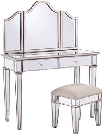 Mirrored Vanity Set
