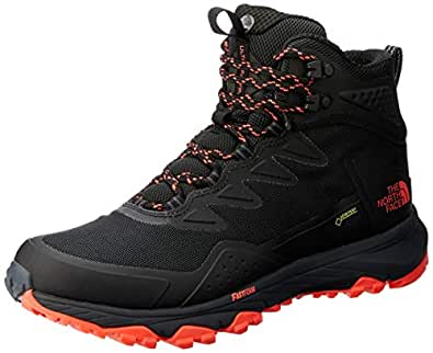 The North Face Women's Ultra Fastpack Iii Mid GTX Trekking & Hiking Boots, Tnfblk/Firy Coral, 5 US