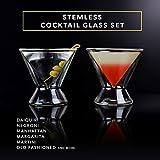 Dragon Glassware Martini Glasses