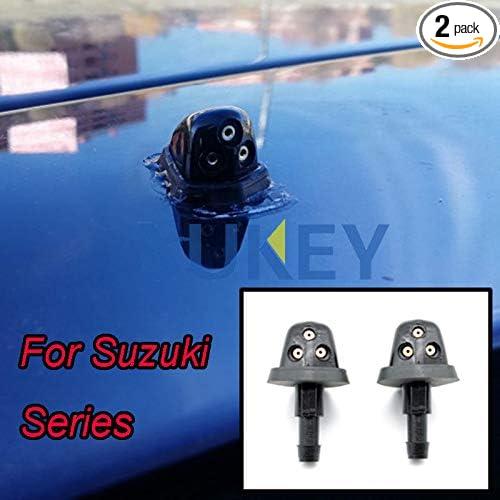 Xukey Front Windshield Wiper Washer Jet Nozzles Set 2Pcs For Suzuki Swift MK2 SX4 MK1 Grand Vitara XL-7 MK2 Escudo Aerio