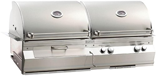 A830i6EANCB Analog Gas/Charcoal Combo Built In Grill - Natural Gas Fire Magic