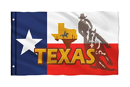 Bonsai Tree 3x5 Feet Texas State Flag - Vivid Color and Fade Resistant and Double Stitched - Polyester Texas Yard Sign Flags American Home Decorations