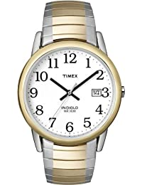 Timex Men's Classic Two-Tone Expansion Band White T2H311GP