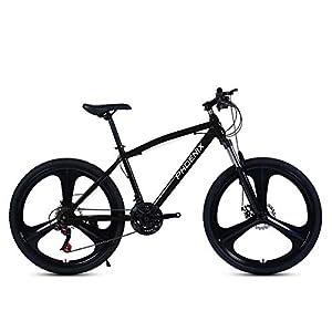 41erDeY%2BhVL. SS300 Bicicletta, Bicicletta MTB, 26 Pollici 21 velocità Bicicletta Mountain Bike, Biciclette Sospensioni Anteriori Doppio…