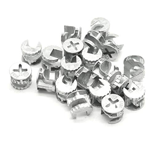 ZXHAO 12mm Dia Furniture Connecting Cam Fittings 20pcs