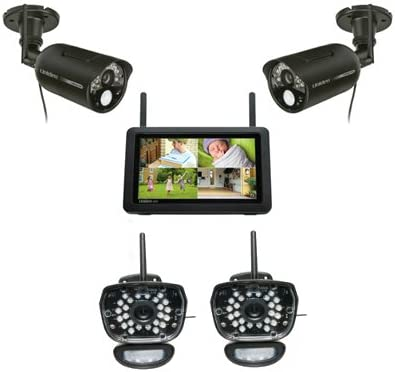 Uniden UDR777HD UDRC58HD 2 Camera – Digital Wireless Video Surveillance System
