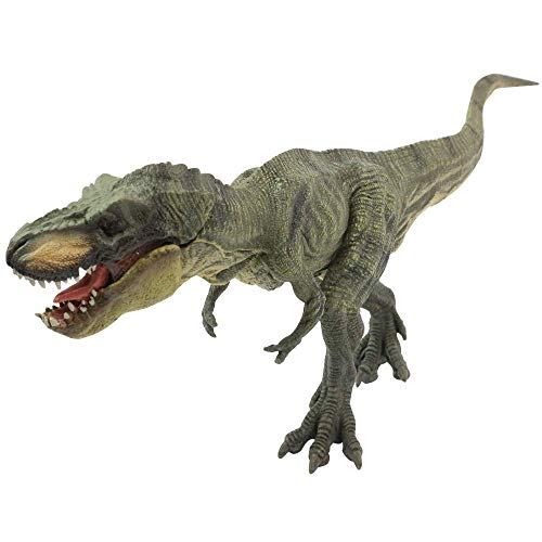 Geminismart Famous in-Home Learning Brand Jurassic World Park Dinosaurs Early Science Education and Collectible Action Figure Toys as Kids Party Supplies Gift for Boys Child(C-Green Tyrannosaurus ()