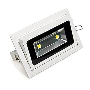 Zesol Waterproof 40W LED Spotlight Outdoor Lighting Warm White AC85-265V