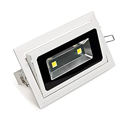 Zesol 40W LED Outdoor Floodlight Waterproof AC85-265V CCT:4300K Natural White