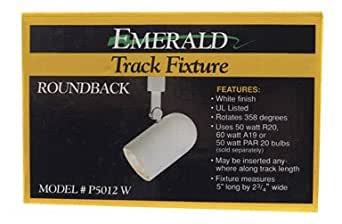 Emerald Roundback Track Lighting Fixture - P5012W - Track