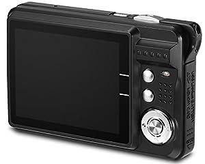 "Aberg Best 21 Mega Pixels 2.7"" LCD Rechargeable HD Digital Camera - Digital video camera - Students cameras - Handheld Sized Digital Camcorder Indoor Outdoor for Adult /Seniors / Kids (black) from EASMENS"