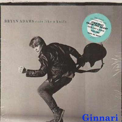 Bryan Adams - Bryan Adams ~ Cuts Like A Knife (Original 1983 Lp Vinyl Album Open But Still In The Original Shrinkwrap Featuring 10 Tracks Including Straight From The Heart) - Zortam Music