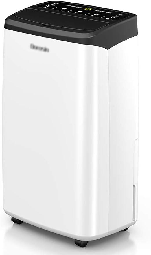 lcc Deshumidificador portátil de 16 L con Control de Humedad y ...