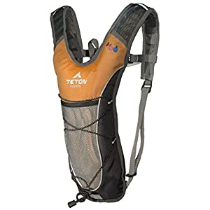 TETON Sports Trailrunner 2 Liter Hydration Backpack Perfect for Biking, Running, Hiking, Climbing, and Hunting; Orange