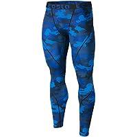 TSLA Men's Compression Pants Baselayer Cool Dry Sports Tights Leggings MUP19