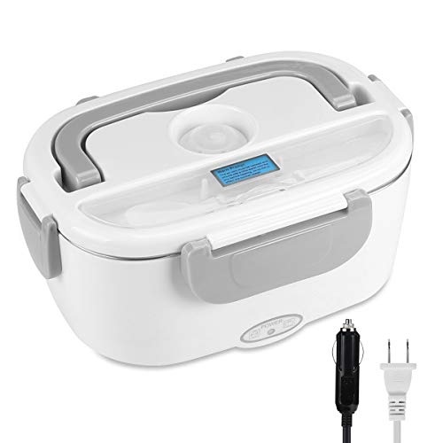 UUTO Electric Lunch Box, Portable Food Warmer for Car/Truck/Home with 304 Food Grade Stainless Steel Material-110V and…