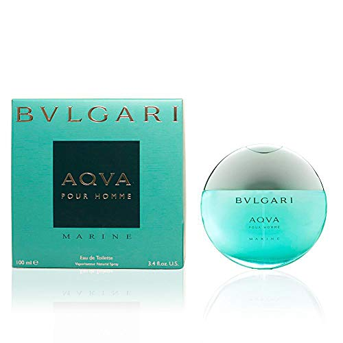 (Bvlgari Aqva Marine Pour Homme by Bvlgari 3.4oz 100ml EDT Spray)