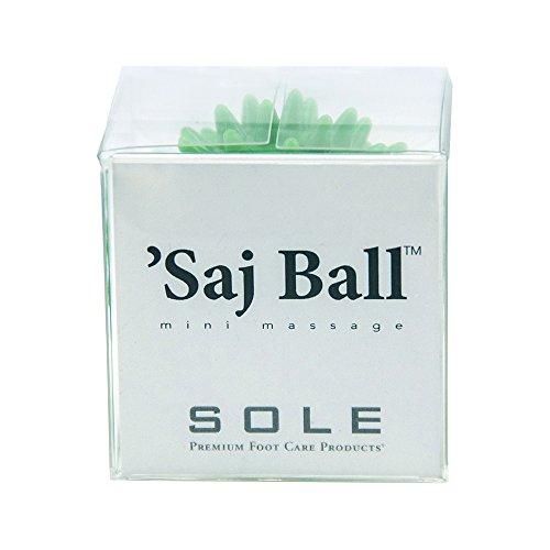 Saj (sAHHHj) Ball Mini Massage – Relaxation Wellness Grooming Beauty Travel Gift – Green, Gift Box