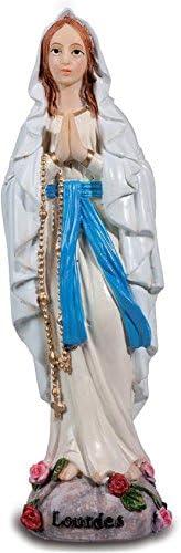 25 cm Katerina Prestige Statuette Vierge de Lourdes