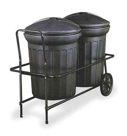 Container Trolley, 250 lb, Fits 31 gal.