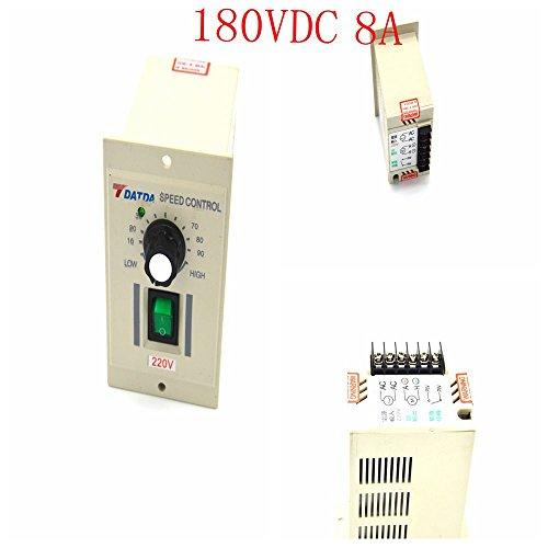 180VDC motor motor speed controller AC 220V input DC 180V output green I / O switch