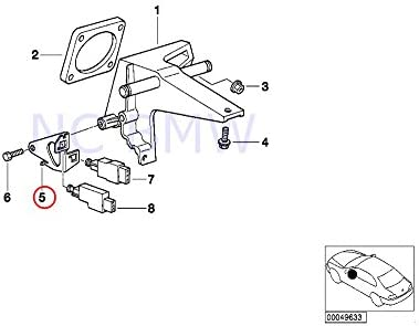 amazon bmw genuine clutch switch bracket automotive 1997 BMW 318I Review